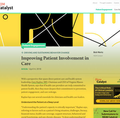 Improving Patient Involvement in Care