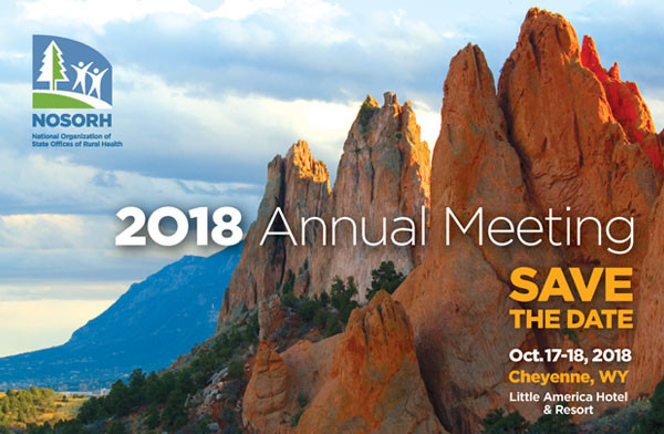 Save the Date for NOSORH Annual Meeting Oct 17-18