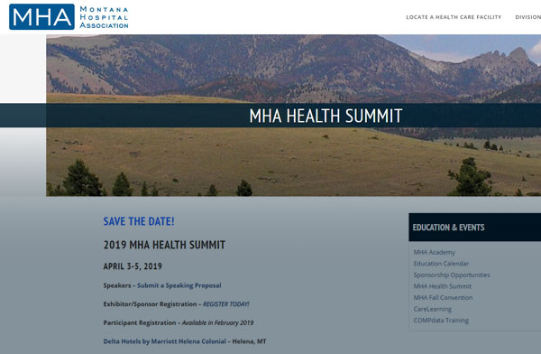 2019 MHA HEALTH SUMMIT