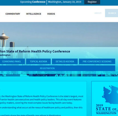 2019 Washington State of Reform Health Policy Conference